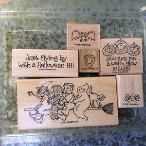 Stampin Up Just Flying By Rubber Stamp